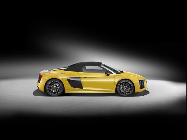 ▲新型Audi R8 Spyder Exterior