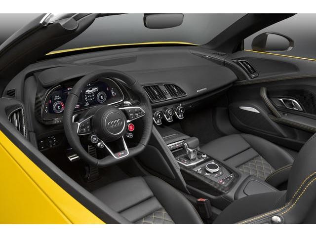 ▲新型Audi R8 Spyder Interior