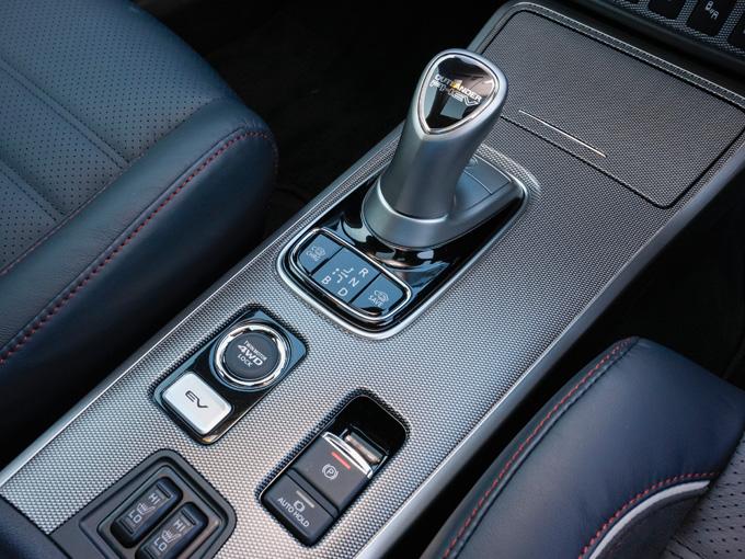 ▲電動パーキングブレーキによる「ブレーキオートホールド」やEV走行を優先する「EVプライオリティモード」を新たに設定されている