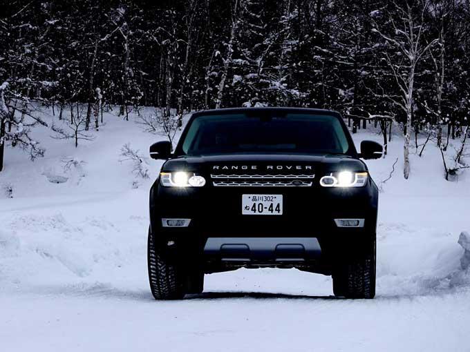 雪上でも圧倒的パフォーマンスを示したジャガー・ランドローバーのSUV(雪上試乗記)