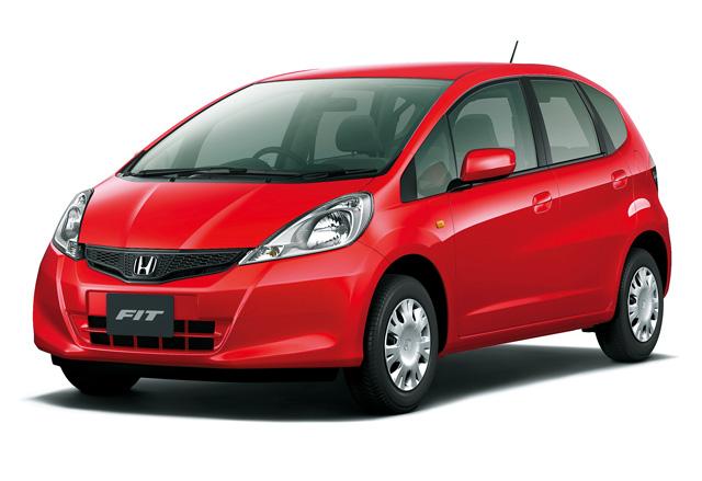 ▲2010年のマイナーチェンジでハイブリッドモデルもラインナップに加わったフィット。ハイブリッドはまた車両本体価格50万円以下の中古車は少なめですが、ガソリン車はかなり買いやすくなっています