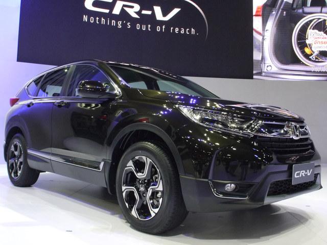 ▲日本市場からは撤退してしまったが、ホンダ CR-Vの5代目が北米に続いて、タイ市場でデビューを果たした。3列7名乗車レイアウトが採用される。2.4L 直4ガソリンと1.6L 直4ディーゼルターボが用意される。今後は中国市場など順次5代目へと切り替わるだろう