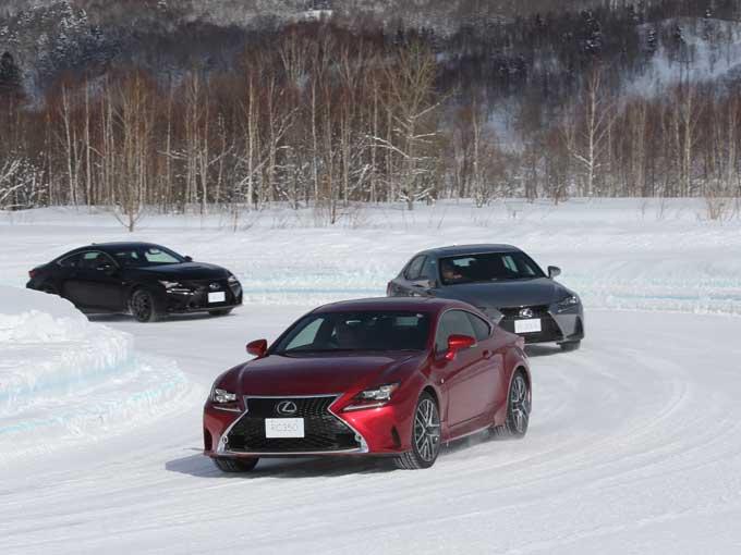 レクサス雪上試乗記~雪上で感じたプレミアムブランドの走り~