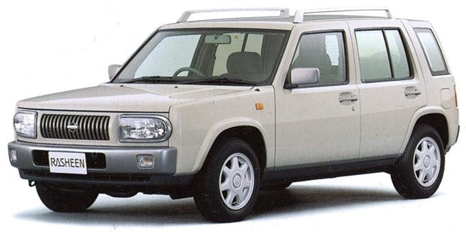 ▲運転しやすさに加え、価格の安さもポイントの日産 ラシーン