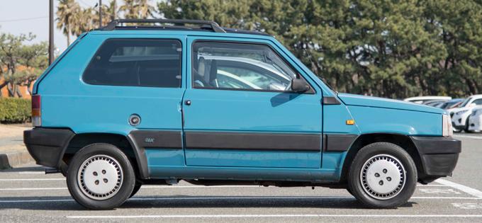 ▲「限られたスペースを最大限に活用し、真の実用車を作り出す」という強い意志のもと開発されたフィアット初の外部委託車