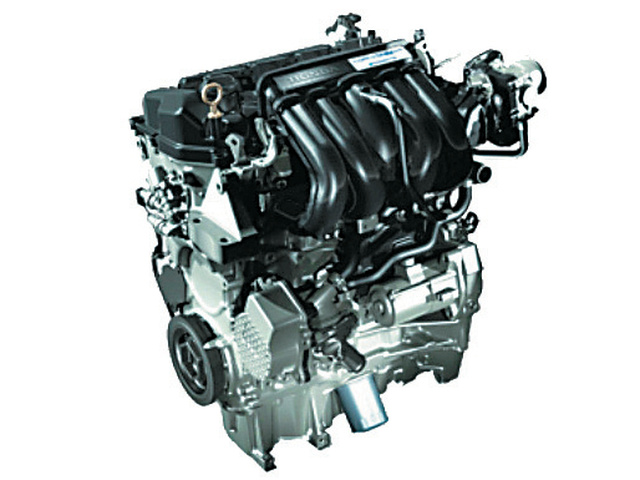 ▲エンジンは、フィットなどにも採用される、1.5Lユニットが流用される。既存のエンジンが発電用にも用いられる方式は、ノートe-Powerと同じで、手持ちの技術を流用することで、開発費が抑えられる