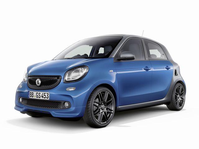 ▲新車価格216万円~となるヨーロピアン・リッターカーの現行スマート フォーフォーですが、その低走行中古車が今、ちょっと気の利いた軽自動車の新車価格より安くなっているんです