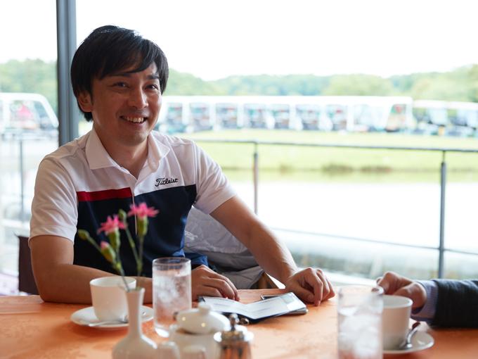 ▲笑顔が爽やかな岡本さん
