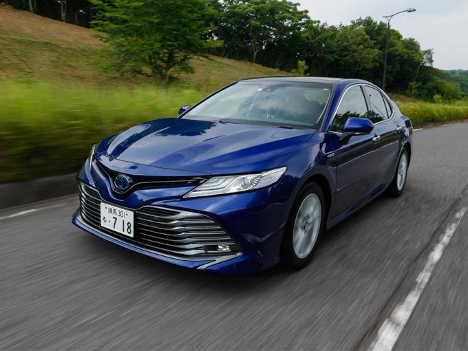 高い静粛性と快適な乗り心地のトヨタ 新型カムリ(試乗レポート)