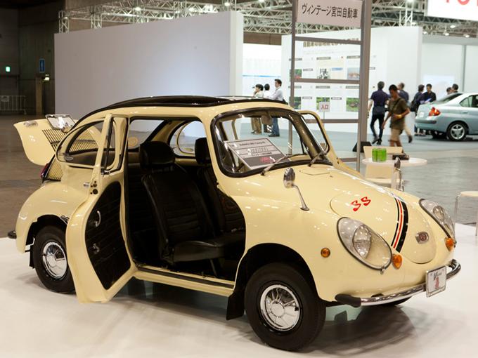 ▲48年前の車ですが、なぜか「逆に新鮮」なようにも感じられるデザインがステキです。中身的にも、選りすぐりのパーツを使って丁寧に組み上げられている1台