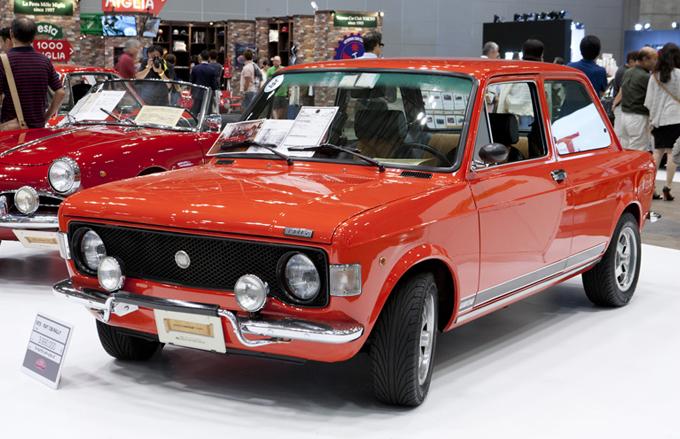 ▲これは73年式のフィアット 128ラリー。お値段は車両399万円也。ある意味安い!