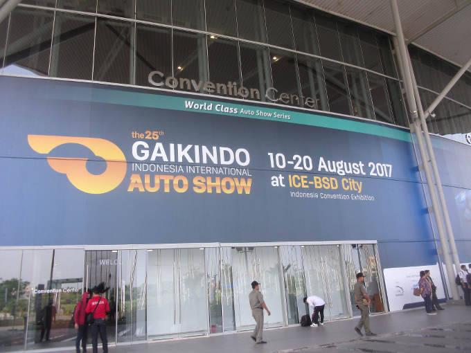 ▲インドネシアのジャカルタ・コンベンションセンターで、2017年8月10日から20日にかけて開催された、インドネシア国際モーターショーから、日本車の展示モデルを紹介する