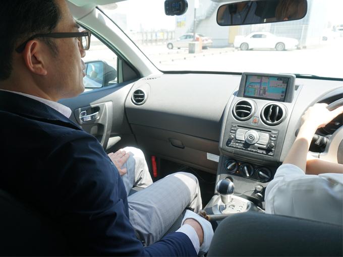 ▲今回はペーパードライバー講習を実際に編集部が受講し、お話を聞いてきた