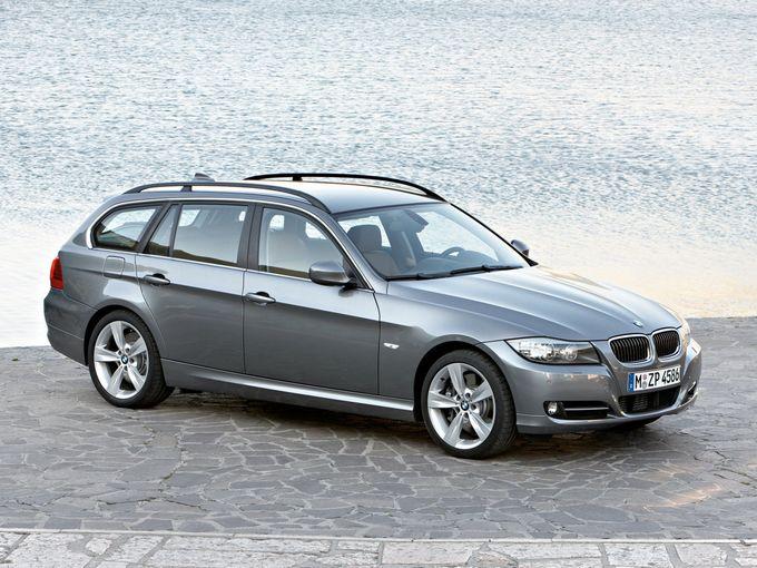 ▲こちらが旧型BMW 3シリーズ ツーリング