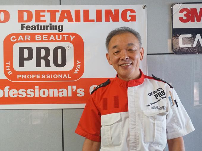 ▲今回お話をお伺いした、株式会社カービューティープロの高井雅弘さん