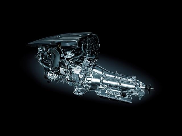 ▲V型6気筒3.5Lツインターボエンジン+Direct Shift-10AT