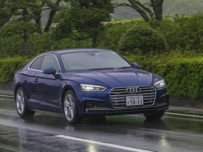 新型アウディ A5は、ゆとりを持って優雅に乗るのが似合う