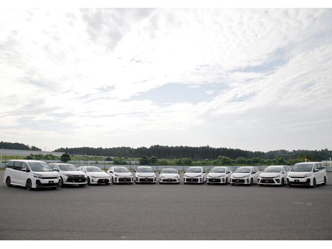 攻めるトヨタの新ブランド 「GR」。86からヴォクシーまで5モデルを一挙乗り