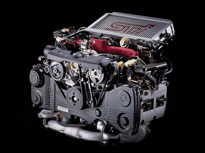 ▲EV/FCVの時代が来る前にぜひ味わっておきたい名作エンジンのひとつ、スバルの2L水平対向4気筒「EJ20」。そのなかでもトップレンジのモデルに絞り、その魅力と狙い目を考えてみたい
