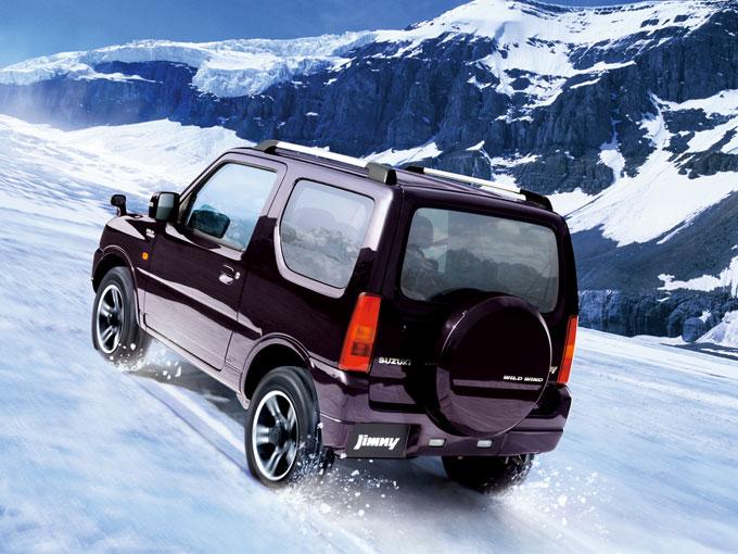 ▲圧倒的な信頼性を誇る4WDシステムを搭載するジムニー。年末から来年にかけては相場上昇が避けられないかも……