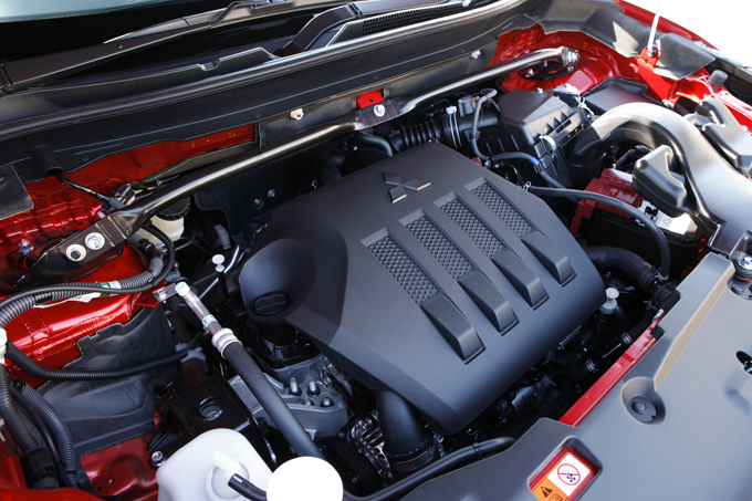 ▲搭載される1.5Lダウンサイジング直噴ターボエンジン