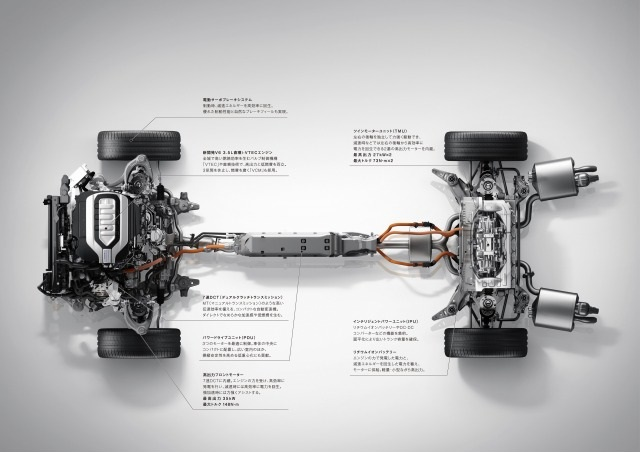 ▲現行NSXと同じシステムを搭載し、さらに走行性能に磨きがかかった現行モデル