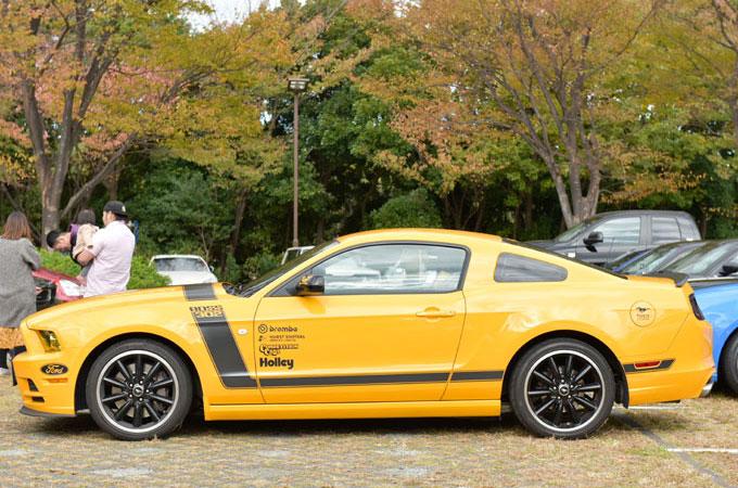 ▲こちらは夫・雄太さんの車。こだわって見つけた限定車のため、大変気に入っているという