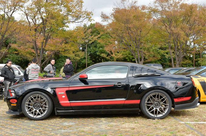 ▲こちらが妻・寛子さんの車。とにかく見た目がかっこ良かったため、一目ぼれして購入したという