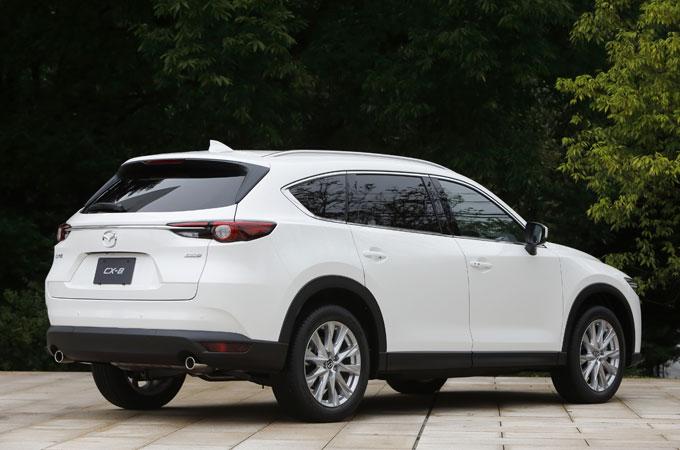 ▲CX-8はデザインと高級感において、2WD・4WD問わず期待して良いモデルだろう