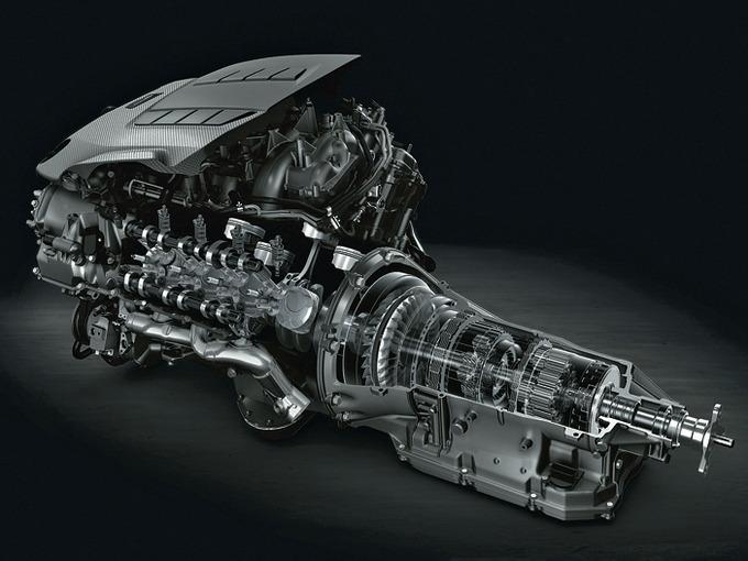 ▲Fシリーズに一貫して使われてきた2UR型5L V8エンジンは、現行世代で役目を終えて、廃止される。次世代のFモデルには4L V8ツインターボが採用され、環境性能の改善が図られる