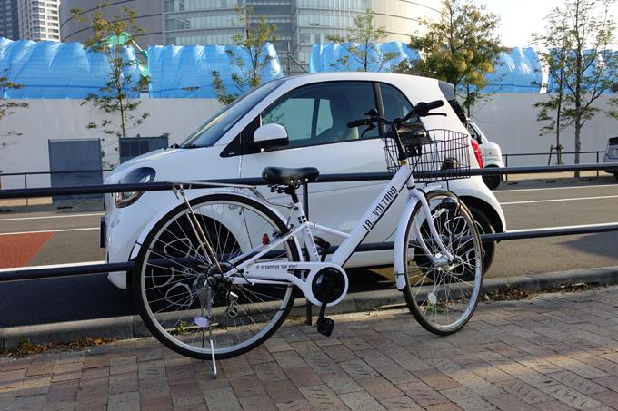 ▲全長2755mmと言われてもピンとこない方向けに。「自転車と大差ないっぽい」と気づいた1枚