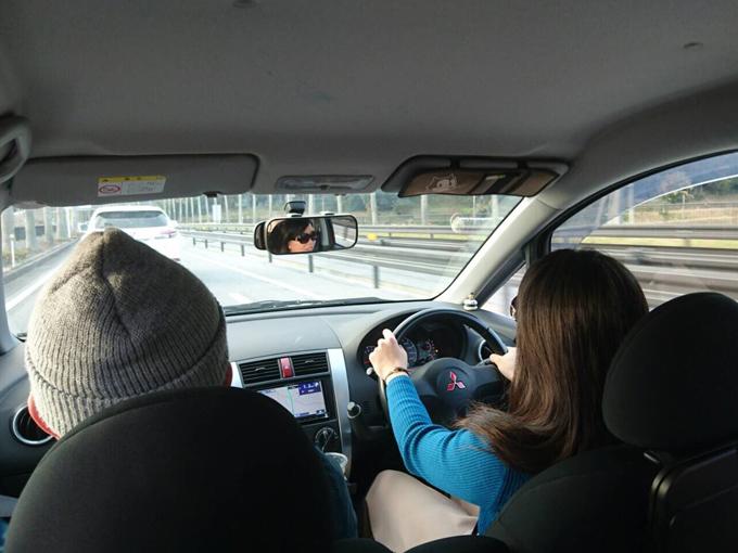 ▲家族旅行も友人との旅行も、運転するのはほぼ田辺さん。車内という特別な空間で会話する時間が楽しいそう!(写真:ご本人提供)