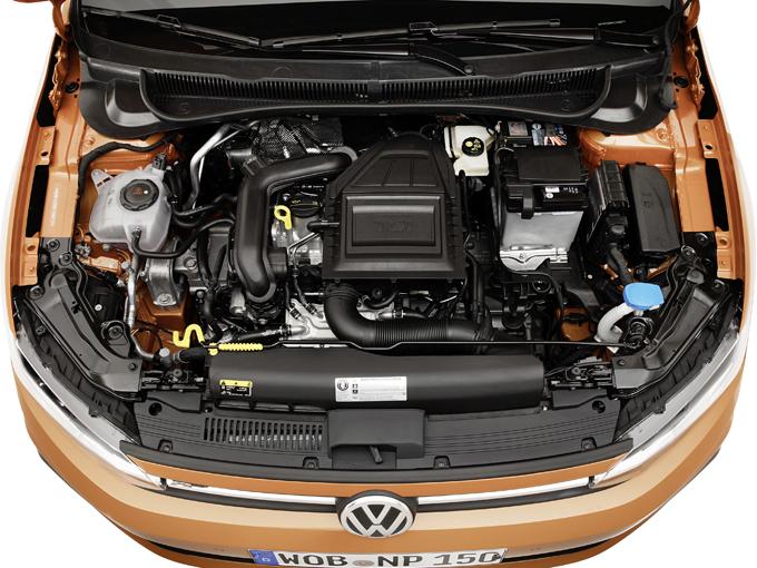 ▲エンジンはさらに効率を高めた1L直3ターボを搭載。日本にも7速DSGとの組み合わせで導入される予定。ちなみに本国ではハイパフォーマンスバージョンのGTIも登場した