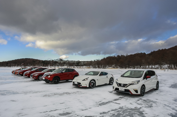 日産のe-POWER・EVは、滑る路面に強い! 氷上で分かる「ワンペダル」の利点