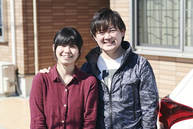 ▲写真右が堀内玲さん。左は奥さまの沙織さん