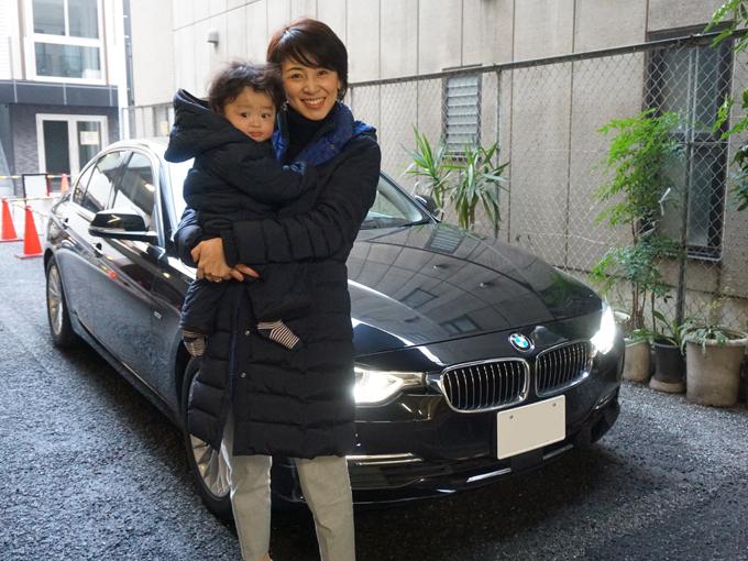 ▲都心部在住で車がなくても十分に生活できていた私ですが、息子が生まれて生活が一変。ついに先日、BMW 320iラグジュアリーを購入しカーライフがスタートしました! 都心住みママ目線でのレポートはページ下部の関連リンクより