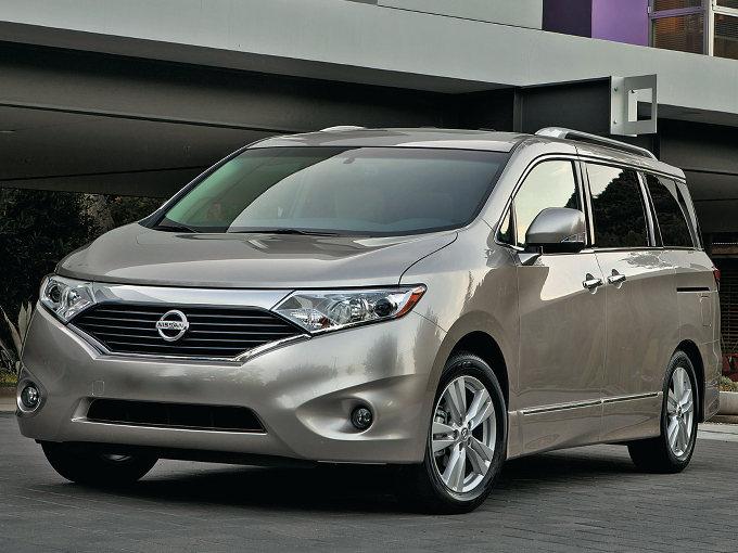 ▲4代目として2010年に発売された、日産 クエスト。日産車体九州で組み立てられて、北米など海外で販売されてきたが、2017年に生産が打ち切られた