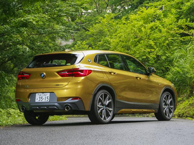 ▲なめらかな曲線的デザインを用いつつ、SUVの力強さも保持されている
