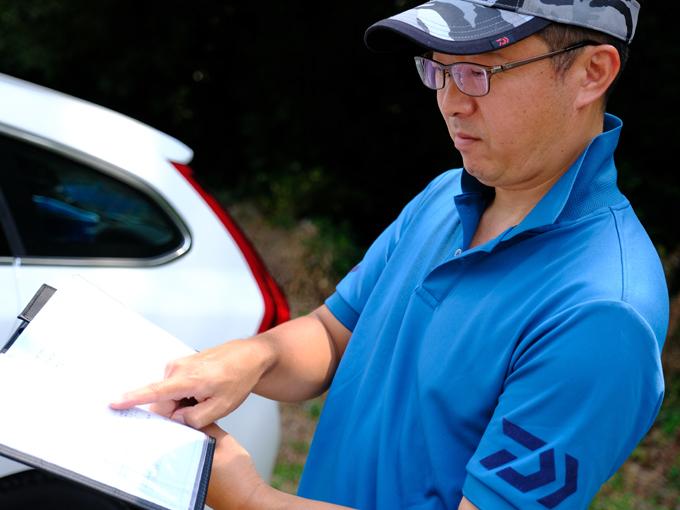 ▲リース契約のため車検証の所有者はリース法人となるが、使用者は天笠さんの名前になる。車検証に自分の名前が載っていることも愛着が湧くポイント