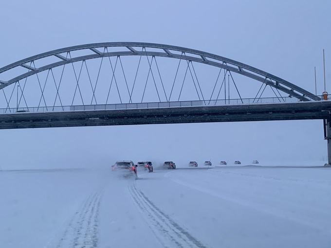 ▲本来船がくぐる橋の下。ここが川の上だということがわかるだろう