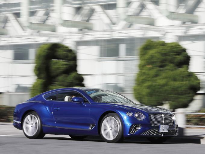 【試乗】新型 ベントレー コンチネンタルGT|スポーティさと優雅な走りを両立させた最高級のドライバーズカーだ