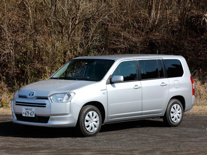 【試乗】トヨタ サクシードバン ハイブリッド|働く車、商用車をワインディングで試す!