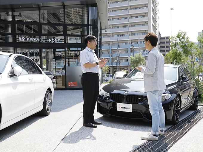 ▲輸入車や衝突被害軽減ブレーキなど最新の安全機能を搭載している車には対応していない