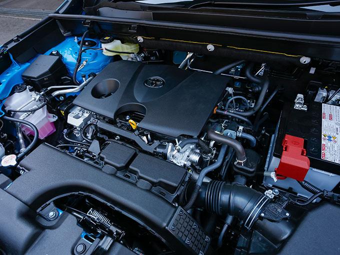 ▲トヨタ RAV4 エンジン