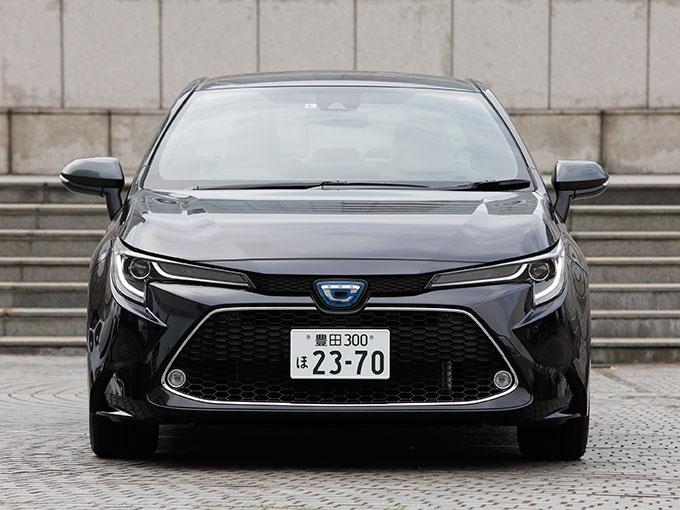 ▲トヨタ カローラ