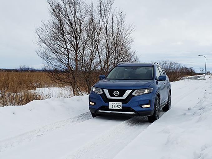 【試乗】日産 ノート e-POWER/セレナ e-POWER/エクストレイル│コンディションの悪い雪の公道で見えた、モデルごとの得手不得手