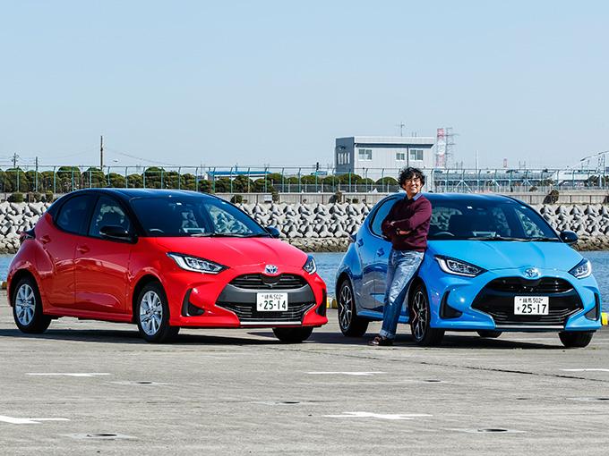 【試乗】新型トヨタ ヤリス ガソリン&ハイブリッド│ボディ剛性と静粛性が高い! ついスポーティな走りがしたくなる