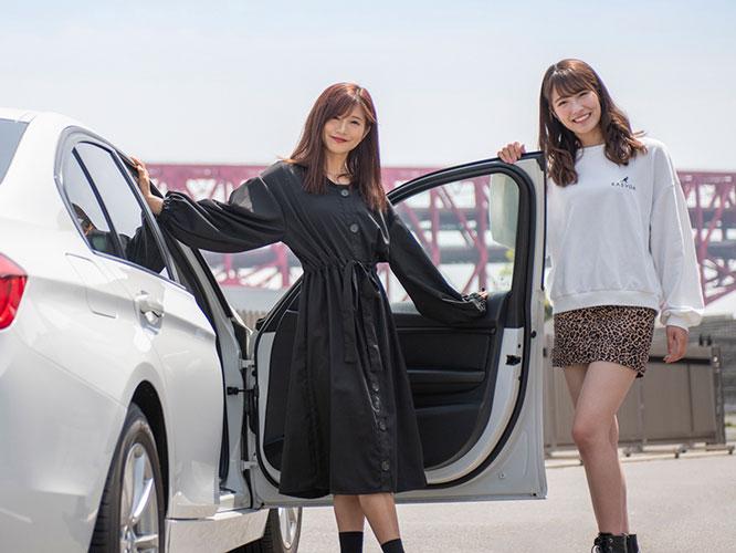NMB48谷川愛梨がBMWを運転!小嶋花梨とのドライブトークをお届け