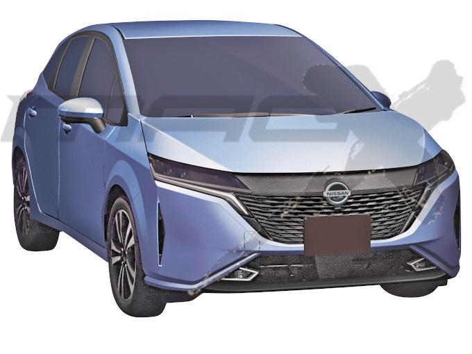 日産 ノートに3ナンバー幅の上級車を設定か:旬ネタ 日刊カーセンサー