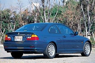 BMW 318Ci リアスタイル|ニューモデル試乗